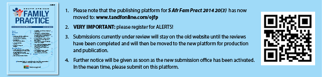 Visit our new platform at www.tandfonline.com/ojfp. Please note that submissions are still accepted on this website. Articles currently in review will be moved to the new website after acceptance.
